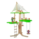 ★PLAN TOYSの木製玩具(木のおもちゃ)★7152★ツリーハウス