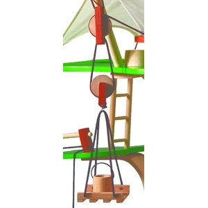 ★PLAN TOYSの木製玩具(木のおもちゃ)★7152★ ツリーハウス