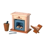 ★PLAN TOYSの木製玩具(木のおもちゃ)★74460★暖炉
