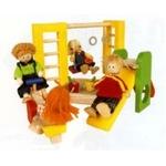 ★PLAN TOYSの木製玩具(木のおもちゃ)★7153★公園プレイグラウンド