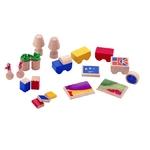 ★PLAN TOYSの木製玩具(木のおもちゃ)★9405★ リビングルームアクセサリー