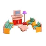 ★PLAN TOYSの木製玩具(木のおもちゃ)★7307★ カラーリビング