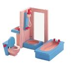 ★PLAN TOYSの木製玩具(木のおもちゃ)★7308★カラーバスルーム