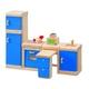 ★PLAN TOYSの木製玩具(木のおもちゃ)★7310★ カラーキッチン