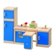 ★PLAN TOYSの木製玩具(木のおもちゃ)★7310★ カラーキッチン 写真1