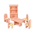 ★PLAN TOYSの木製玩具(木のおもちゃ)★9012★クラシックダイニングルーム