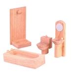 ★PLAN TOYSの木製玩具(木のおもちゃ)★9014★クラシックバスルーム