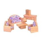 ★PLAN TOYSの木製玩具(木のおもちゃ)★9015★クラシックリビングルーム