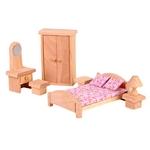 ★PLAN TOYSの木製玩具(木のおもちゃ)★9016★クラシックベッドルーム