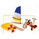 ★PLAN TOYSの木製玩具(木のおもちゃ)★6109★ アウトドアスポーツ 写真1