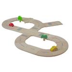 ★PLAN TOYSの木製玩具(木のおもちゃ)★6077★ ロードシステム スタンダード