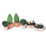 ★PLAN TOYSの木製玩具(木のおもちゃ)★7336★ パティオプラントセット