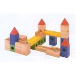 ★PLAN TOYSの木製玩具(木のおもちゃ)★9001★ビルドアンドロール(旧型)