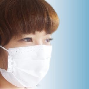 新型インフルエンザ対策不織布マスク モースプロテクション 100枚入り レギュラーサイズ(大人用)