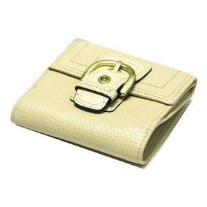 COACH(コーチ) ソーホーレザーニューフレンチ2つ折財布 サンド
