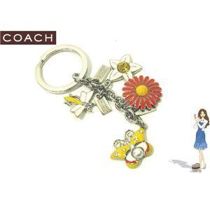 COACH(コーチ) キーホルダー スプリング タイム メドウ ミックス キーフォブ 92281