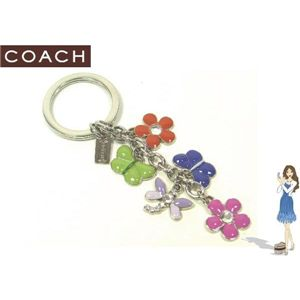 COACH(コーチ) キーフォブ スプリング マルチ ミックス 92439