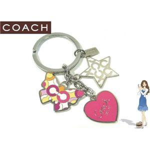 COACH(コーチ) キーフォブ オプ アート ミックス 92451