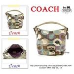 【2010年春モデル】COACH(コーチ) ショルダーバッグ KRISTIN(クリスティン) グラフィック オプアート ホーボー マルチカラー 14860