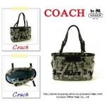 COACH(コーチ) トートバッグ ホース キャリッジ プリーテッド イーストウエスト ギャラリー ブラック 14629