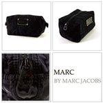 【NEW】MARCBY MARCJACOBS(マークバイマークジェイコブス) ナイロン スモール コスメティック ポーチ ブラック