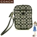 Coach(コーチ) ポーチ シグネチャー マルチ ブラック 60396