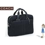 Coach(コーチ) ショルダーバッグ ミニ シグネチャー スクエア ブラック 70058
