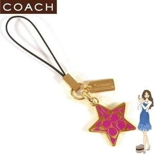 Coach(コーチ) ストラップ ブラス シグネチャー スター ランヤード 92425