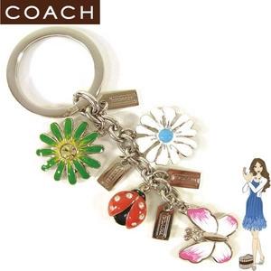 Coach(コーチ) キーホルダー メドウ ミックス キーフォブ 92084