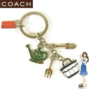 Coach(コーチ) キーホルダー ガーデンミックス キーフォブ 92288