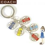 Coach(コーチ) キーホルダー ヘリテージ ディスク キーフォブ 92305