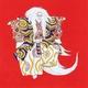 【箱入り】■日本製高級風呂敷■丹後ちりめん浮世絵風呂敷[二巾]■鏡獅子■ 写真1
