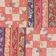 ■日本製高級風呂敷■はいからもだん友仙ふろしき[二巾]■市松寄せ裂(ピンク)■ 写真1
