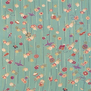 【箱入り】■日本製高級風呂敷■はいからもだん友仙ふろしき[二巾]■一目絞り玩具(セイジ)■
