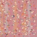 ■日本製高級風呂敷■はいからもだん友仙ふろしき[二巾]■立涌小紋に花玩具(ピンク)■