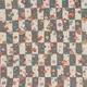 【箱入り】■日本製高級風呂敷■はいからもだん友仙ふろしき[二巾]■貝合わせに桜散らし(グレー)■ 写真1