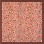【箱入り】■日本製高級風呂敷■はいからもだん綿大ふろしき■よろけ絞り散花(ピンク)■