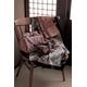 【箱入り】■日本製高級風呂敷■はいからもだん綿大ふろしき■よろけ絞り散花(ピンク)■ 写真3