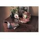 【箱入り】■日本製高級風呂敷■はいからもだん綿大ふろしき■よろけ絞り散花(ピンク)■ 写真4