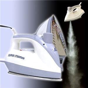 プロが使用する2.5気圧スチームパワー スーパージェットスチーマー ホワイト(VR-JS white)