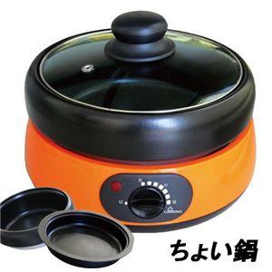 TWINS(ツインズ) ミニグリル鍋 ちょい鍋 MG-500
