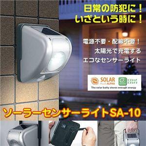 ソーラーセンサーライト SA-10