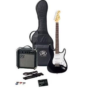SX エレキギター入門セット FST62K ブラック