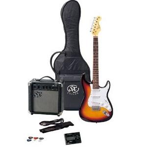 SX エレキギター入門セット FST62K 3-トーンサンバースト