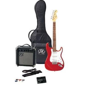 SX エレキギター入門セット FST62K キャンディアップルレッド