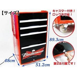 Budweiser(バドワイザー) ボックス冷蔵庫 98L SC98