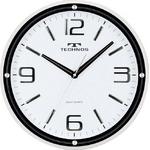 TECHNOS(テクノス) 型壁掛け時計 W-538 WH(ホワイト)