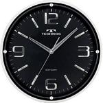 TECHNOS(テクノス) 型壁掛け時計 W-538 BK(ブラック)