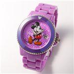 Disney(ディズニー) ミッキーマウスウォッチD91084-SVPU/パープル