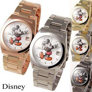 ミッキー Disney レディース メタルブレスウォッチ